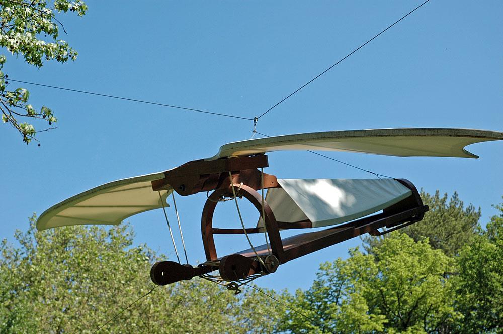 Необычное летательные аппараты своими руками