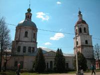 Троицкая церковь - в ней сейчас музей