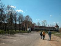 Подход к главному входу в Кремль