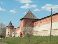 стены Зарайского кремля