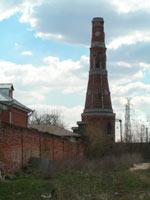 Не отреставрированная башенка