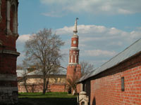 Стена Брусенского монастыря