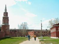 Территория Брусенского монастыря